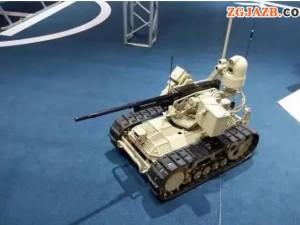 """我军""""锐爪1""""型无人战车正式服役!外形小巧却显示惊人杀伤力"""