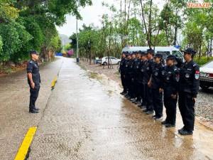 云南昆明五华法院法警大队苦练本领,提高警务保障能力