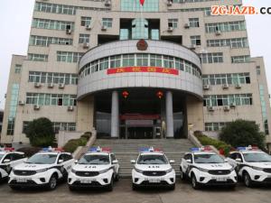 警队添利器 新车扬警威 | 江西省永新县公安局举行新警车授车仪式